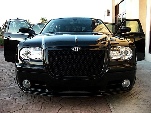 Chrysler 300 300c Grille Mesh Abs Black Bentley